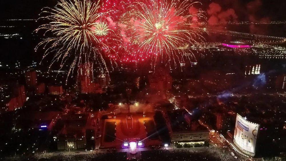 День города — 2021 в Ростове: флешмоб, бал и флайборд